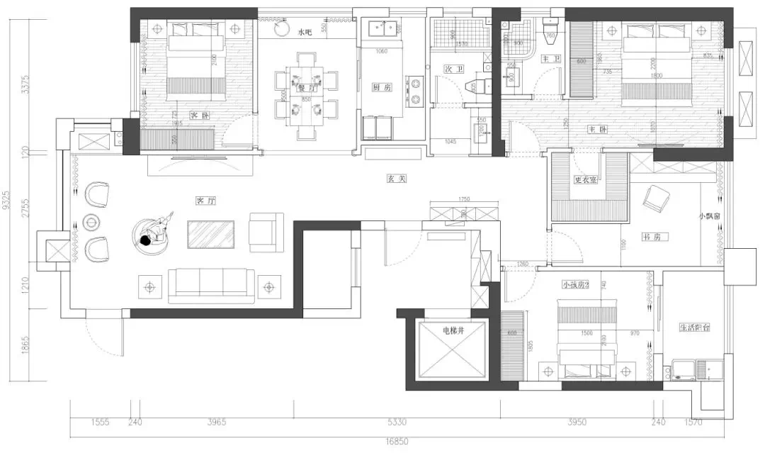 新中式家装:享受传统文化和舒适带来的美好体验 新中式 家装 第2张