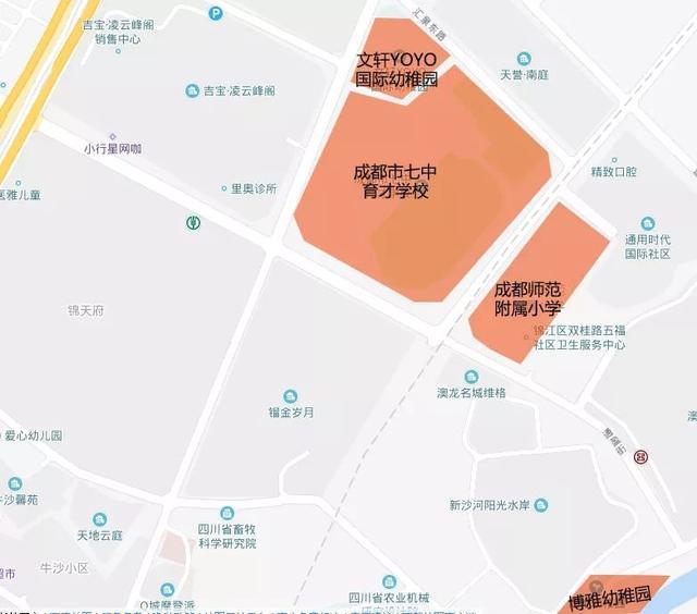 主城區高端住宅解渴!錦江區攀成鋼仁恒濱河灣預計近期入市