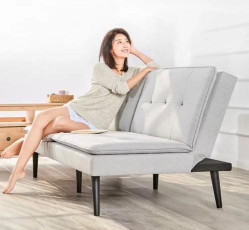 米家有品上线8H北欧风沙发床,解决小户型空间困扰