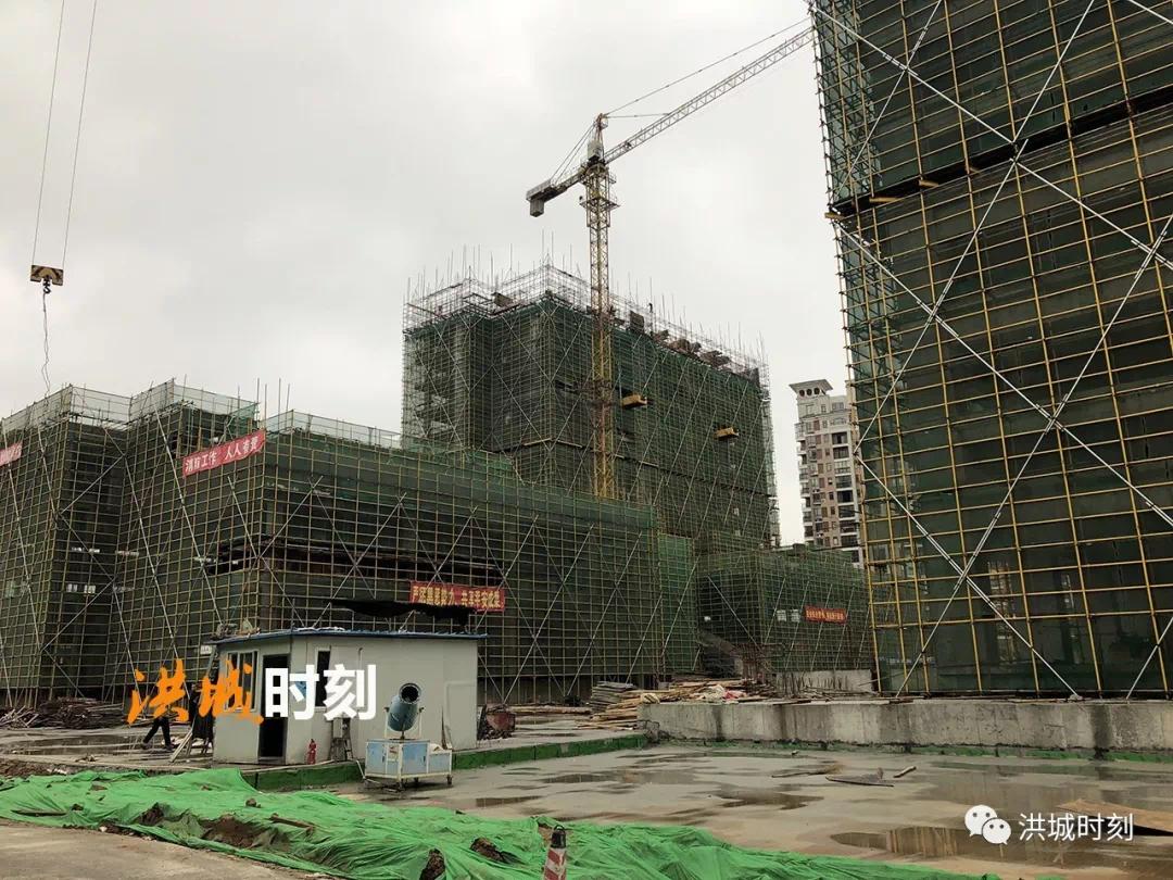 红角洲商业迎来建设期!联泰华邑酒店主体结构施工!
