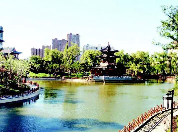 """太原市初步形成""""一轴双区三楔多廊多园""""绿地系统"""