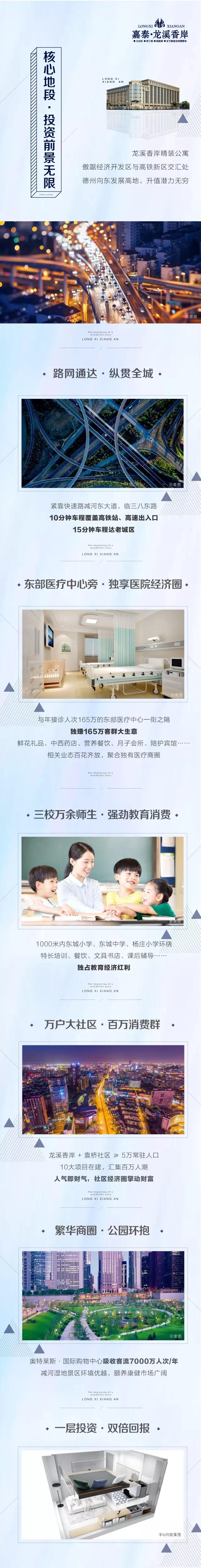 """龙溪香岸精装公寓,投资""""钱""""景无限,抢占东发展高地!"""