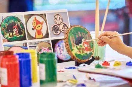 手绘环保手袋、DIY年轮画!相约东方紫苑守护自然吧!