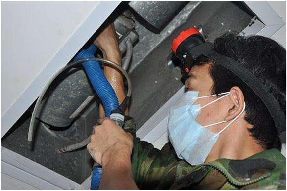 家用中央空调清洗维护保养基本步骤