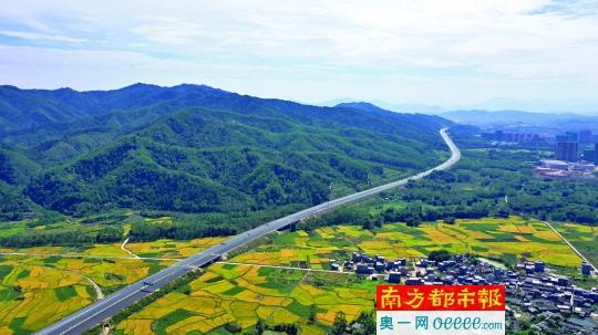 武深高速惠州段年底將全線通車