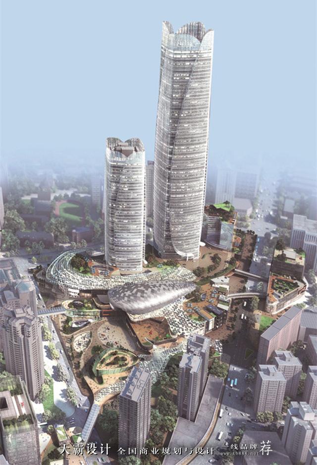 上海徐家汇中心及其ITC商场设计欣赏