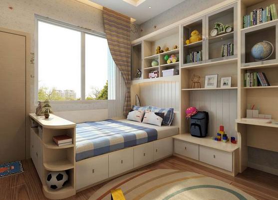芜湖梅叶装饰分享5款男孩儿童房装修效果图