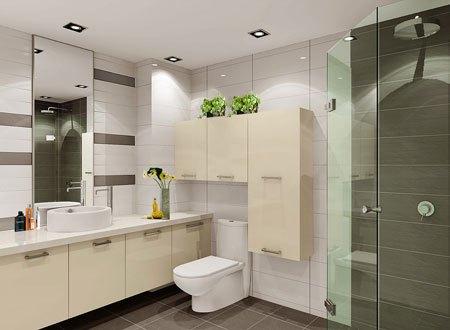 卫生间柜体安装