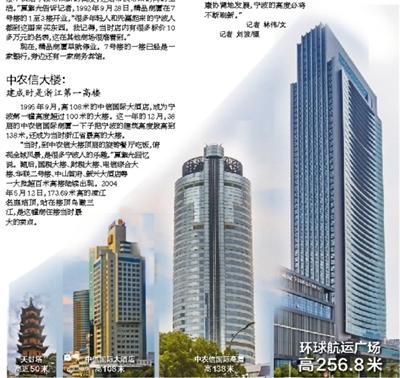 """450米高楼有望年内动工?宁波天际线越""""长""""越高"""