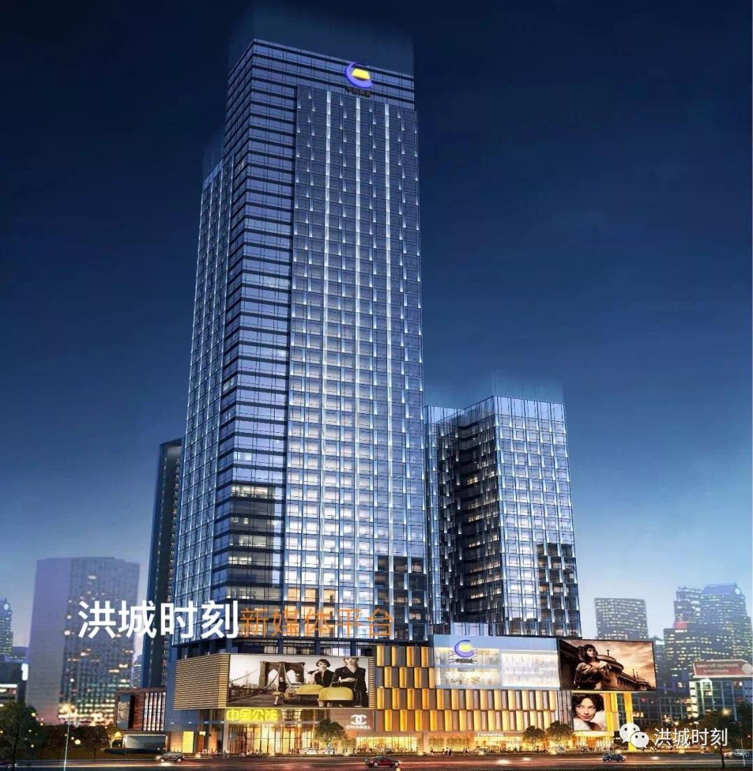 南昌再添地标!江西首座纯钢结构超高建筑落定南昌!你猜在哪?