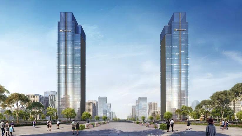 绿地,为德州未来而来, 170米双子塔,助力东城崛起!