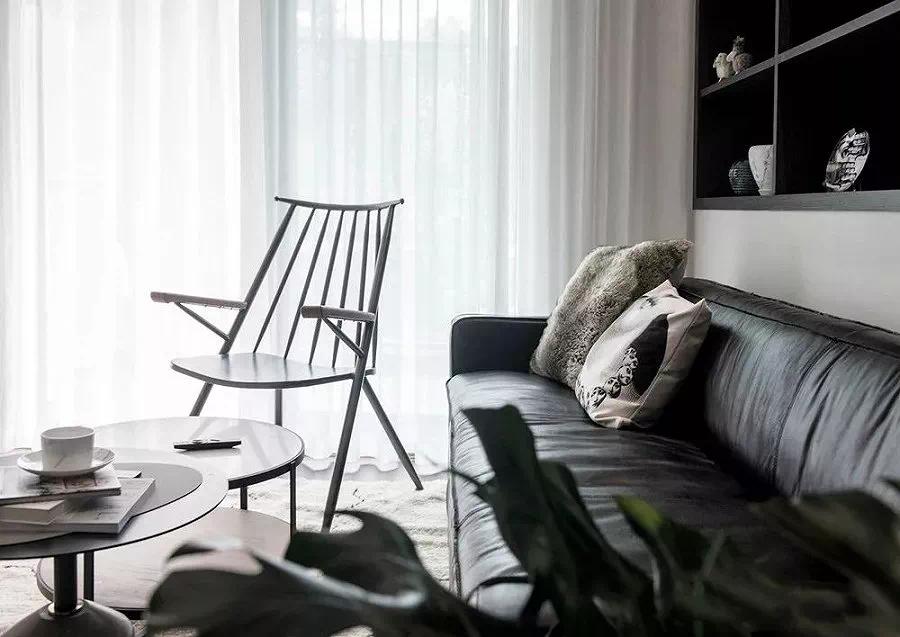 黑白灰的北欧风装修设计效果图 高格调秒杀所有奢华风