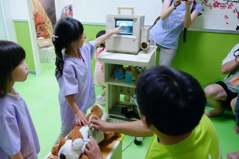 乐8小城 | 清晖嘉园第二波儿童职业体验活动欢乐来袭!