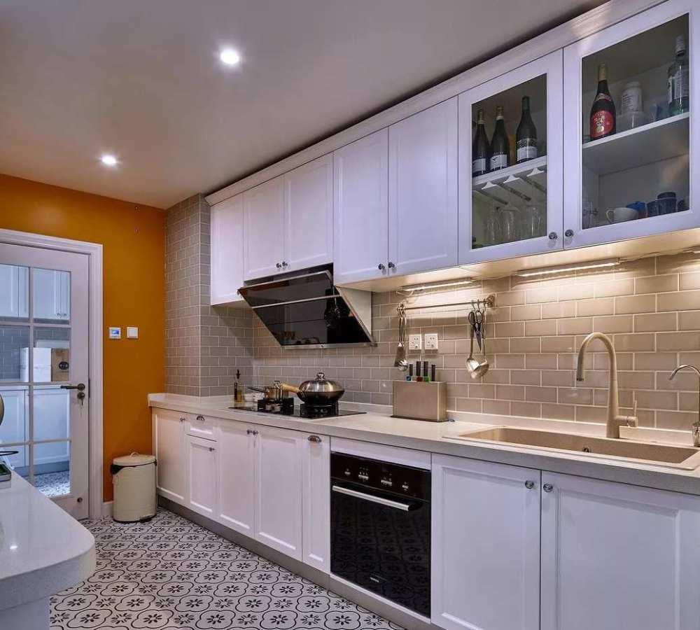 南京鶴立裝修:6~10㎡廚房大改造,小空間的大門道