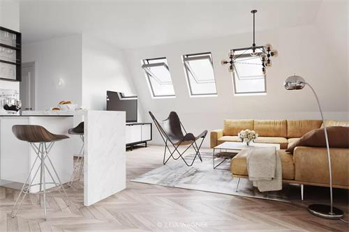 斜顶阁楼装修设计,窗户搭配窗帘有哪些讲究?