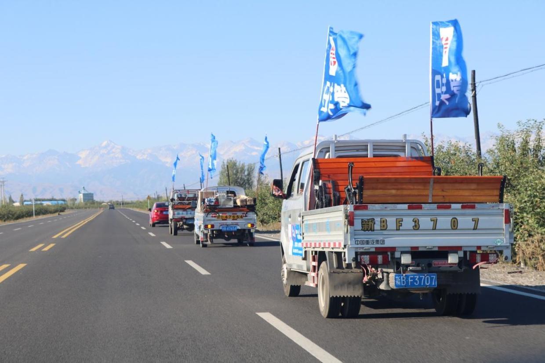 扶贫先扶智,日丰集团走访慰问新疆贫困学校