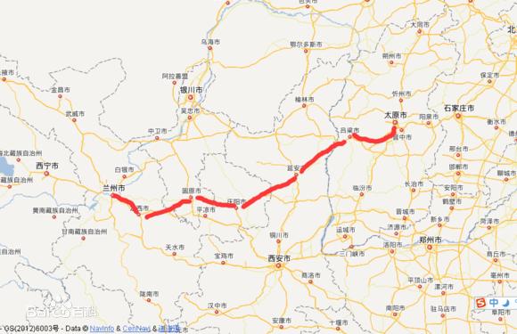 兰太高铁规划4省9地 时速350公里 将成西北华北沟通捷径