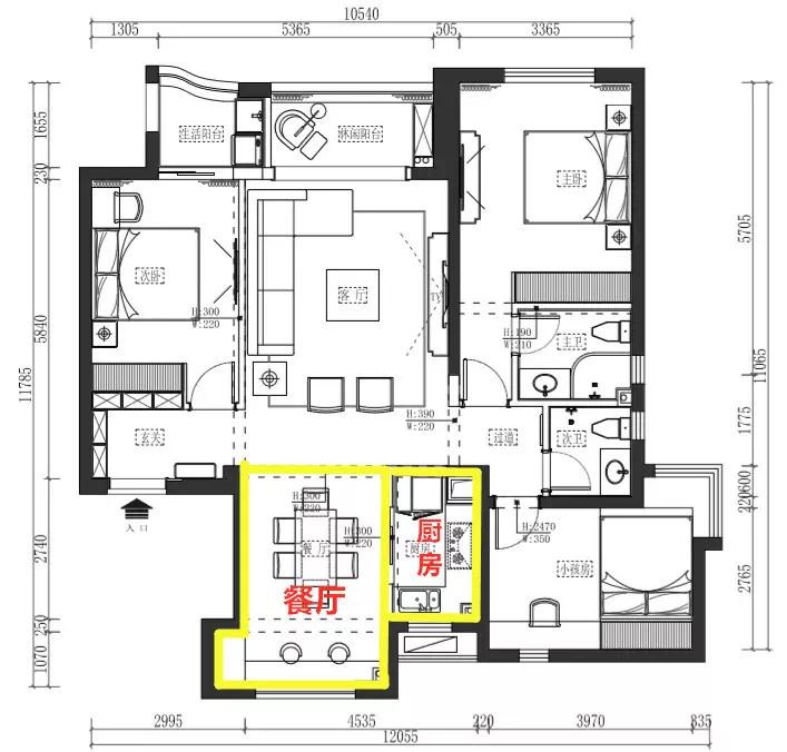 95后创业夫妻,为孩子装了这样一个现代黑白风格的家! 装修 现代黑白风格 第7张