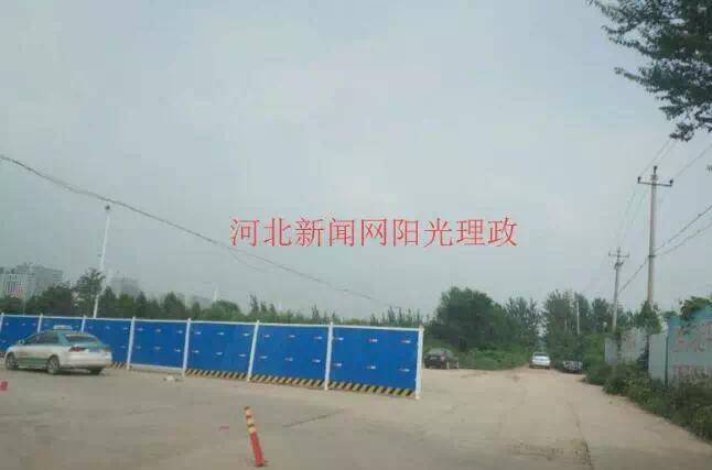 网友反映沧州这里围挡堵路,住建局作出回复