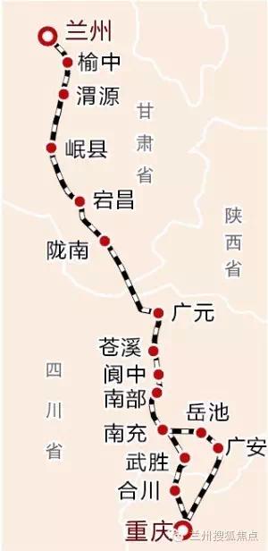 辐射重庆、贵州等四省市区 2018兰州将着力打造南向通道