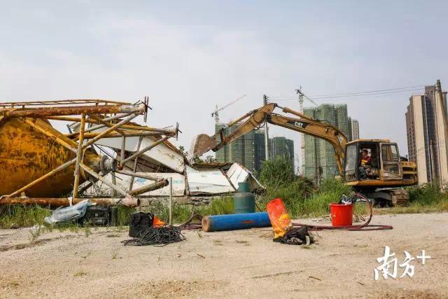 3700平方米违建化为废土!中山这个区依法强拆违法建筑