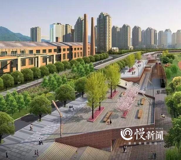 沙滨路升级,嘉陵江磁井段一期工程预计明年6月底完工