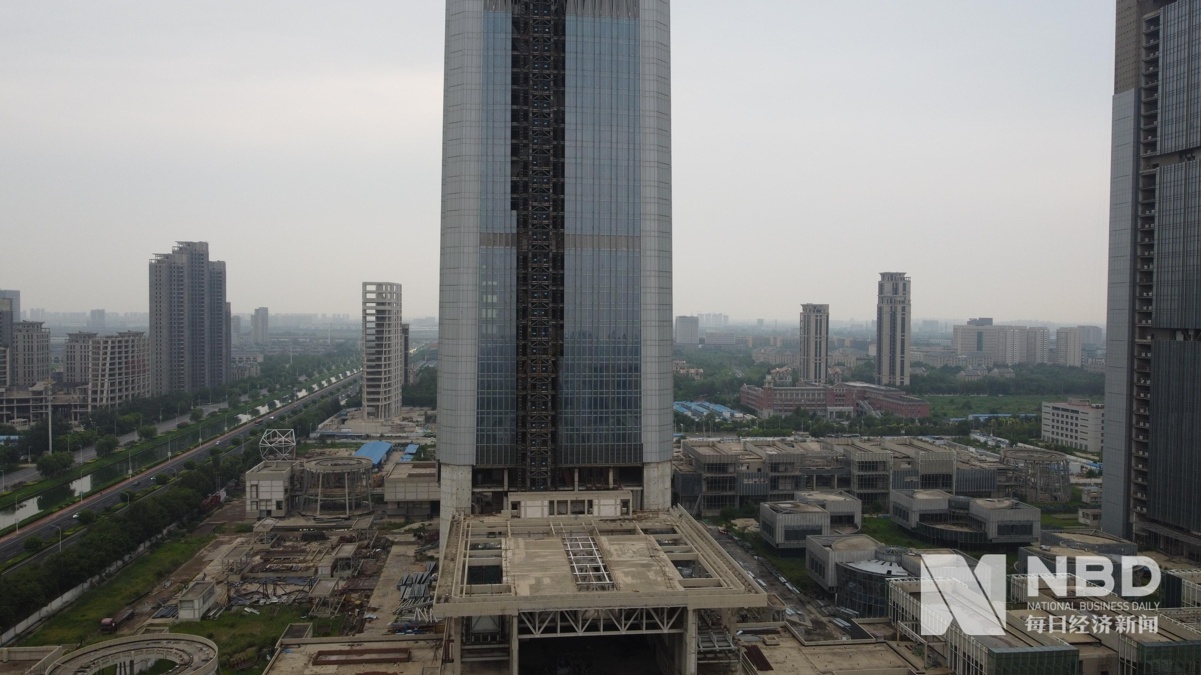 高近600米、投入400亿……中国最高烂尾楼何时能复工?