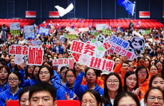 """当进博会""""邂逅""""大虹桥 万达银座见证西上海中心崛起"""