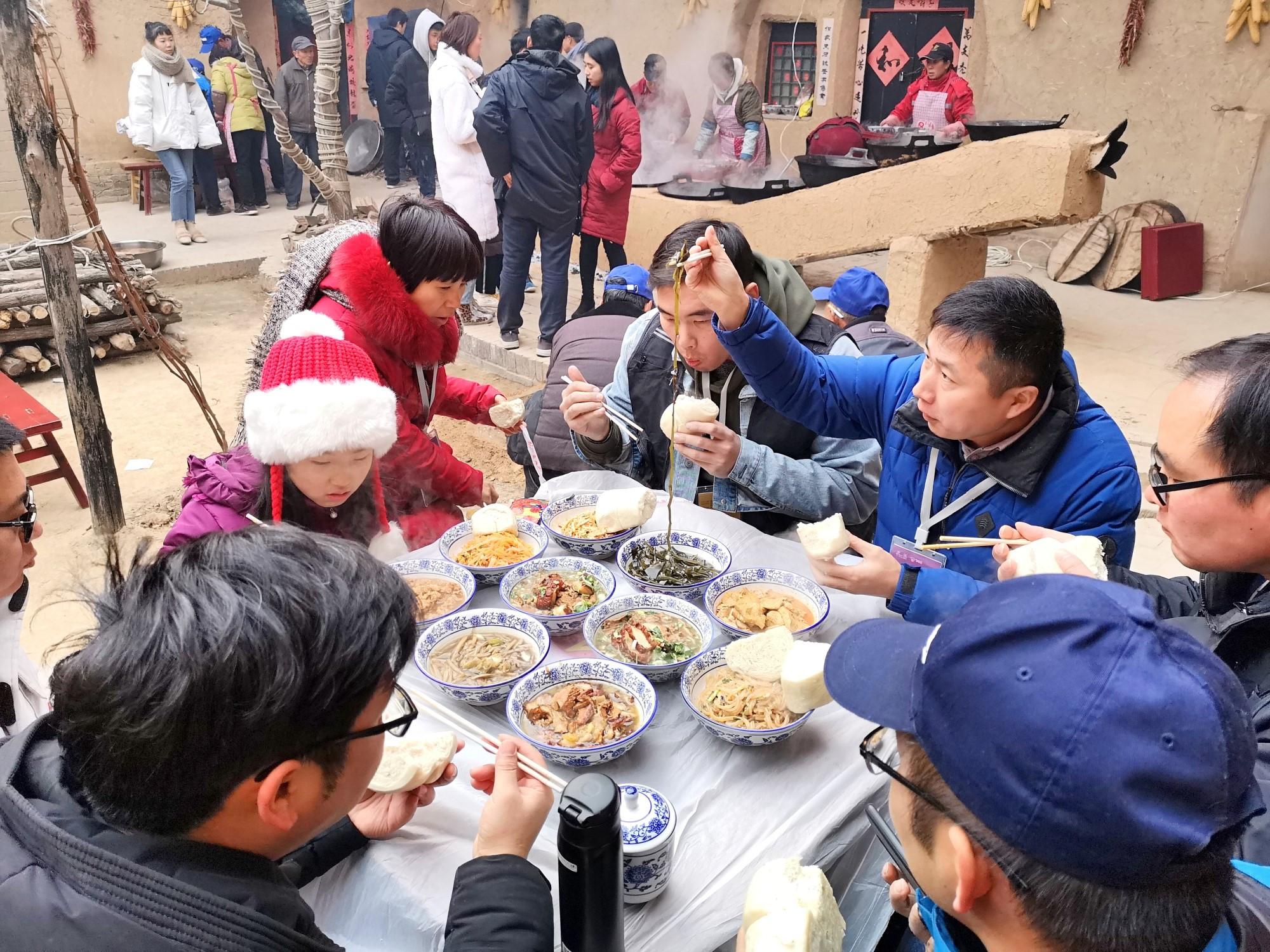 寻找年的味道,一个陕州地区穿山灶一桌十碗席,撼动所有人的味蕾