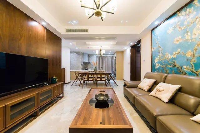 芜湖20万装修140㎡四居室中式风格的家