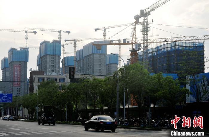中國房地產開發投資、銷售增速連續三個月放緩