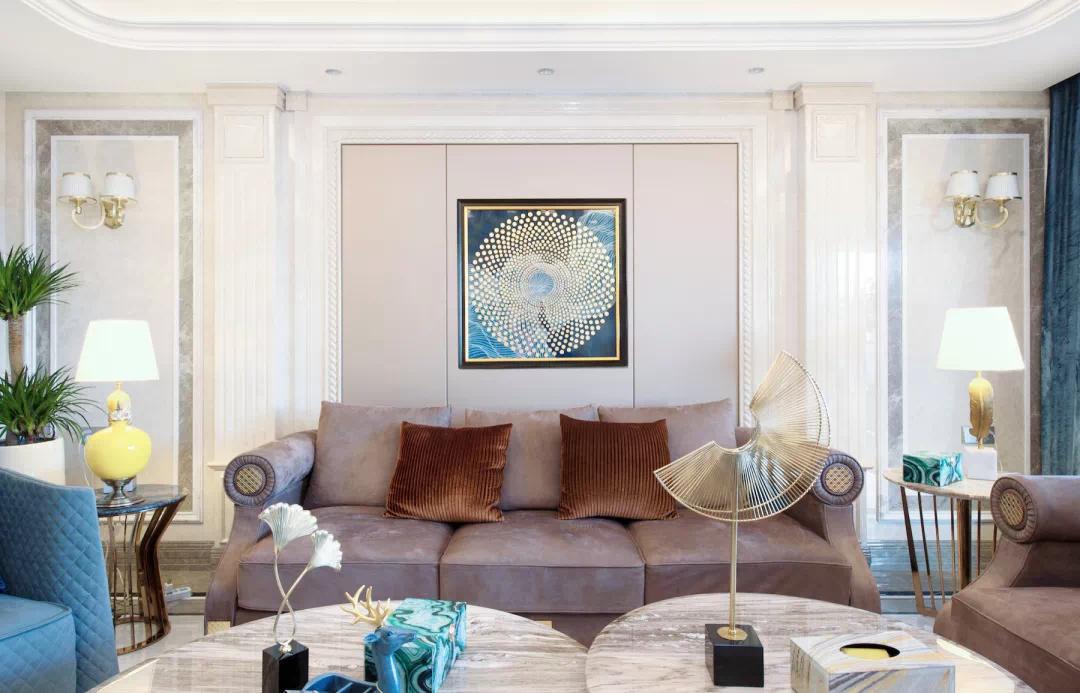 180m²中欧混搭的房子,古典、高贵、优雅,最终回归平静 混搭 第9张