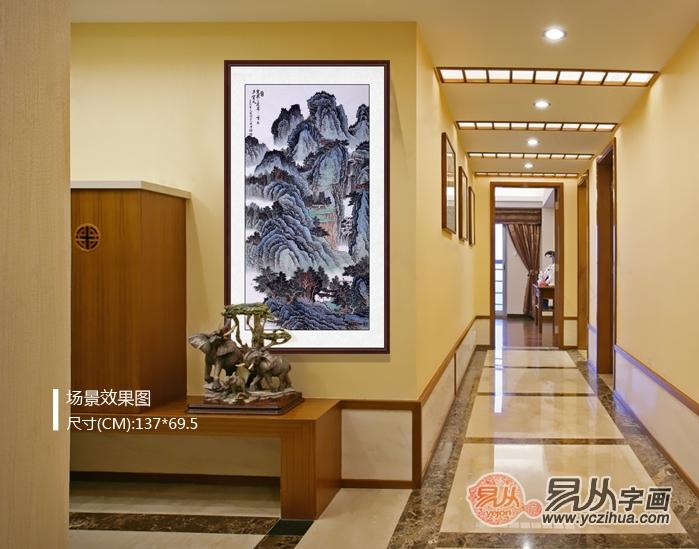 一個大氣的酒店,里面的裝飾畫也要有品位