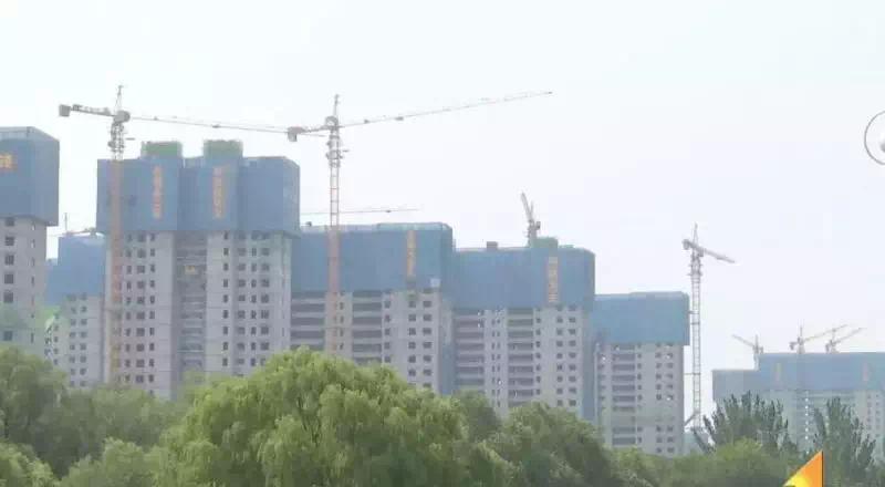 """大业•锦绣阳光城工程进度丨""""家""""音又至,C4#封顶大吉"""