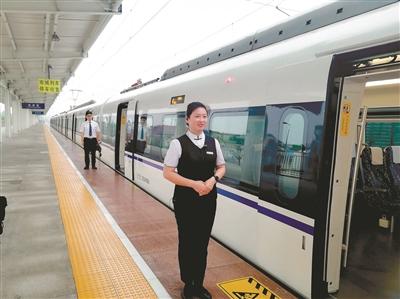 浙江绍兴至宁波城际铁路于昨日正式通车