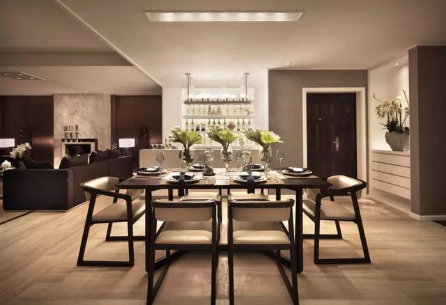 现代风格三居室装修案例‖感受其中倍感舒适与清爽。