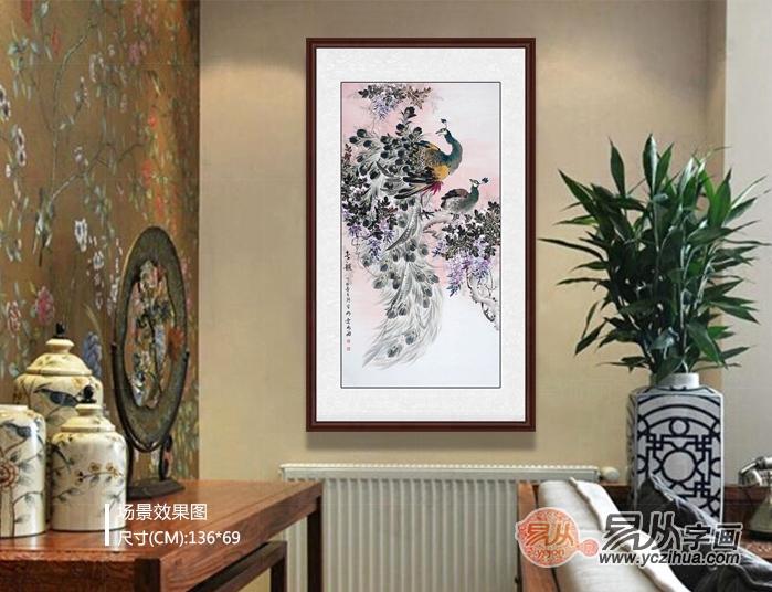 沙发背景墙字画,家居要的装饰画这里全都有