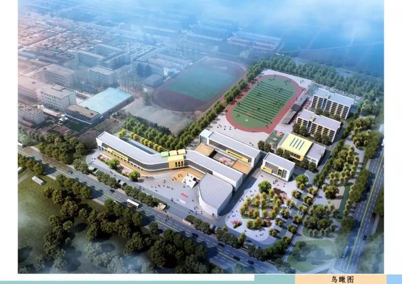 即墨市民家门口新建灵山中学,2020年12月交付使用