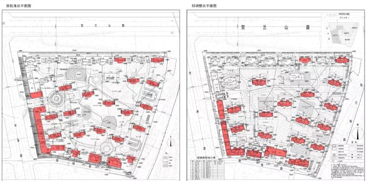 西夏区一项目出最新规划调整,具体位置在这里!