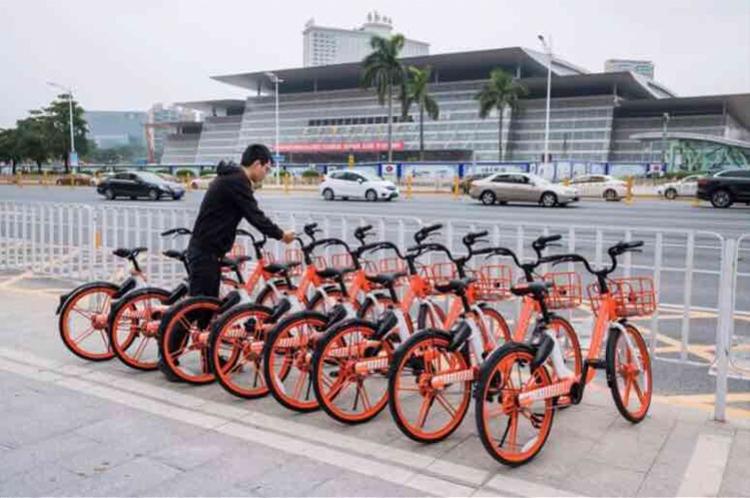 在东莞遇到共享单车二维码被刮,用这招一秒就可以解决