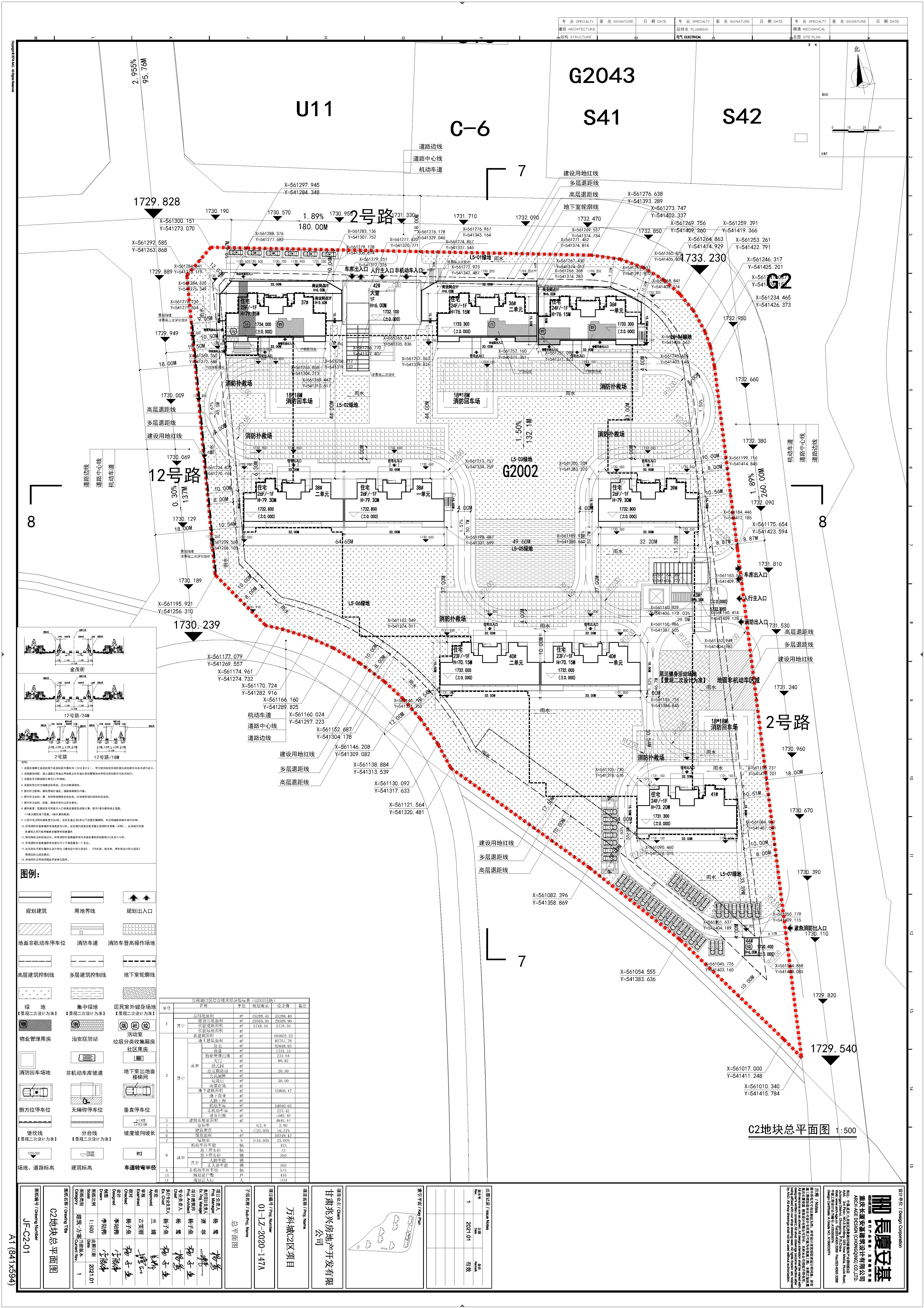 皋兰县自然资源局关于万科城C2区项目总平面方案的批后公布