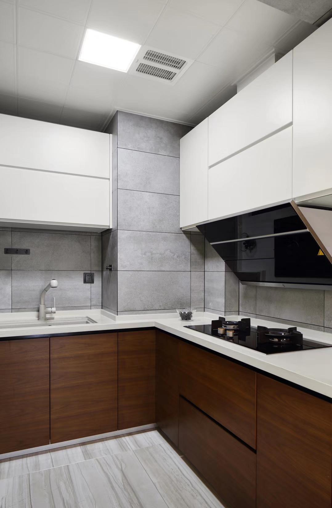 芜湖现代简约风别墅装修,打造简单舒适的家