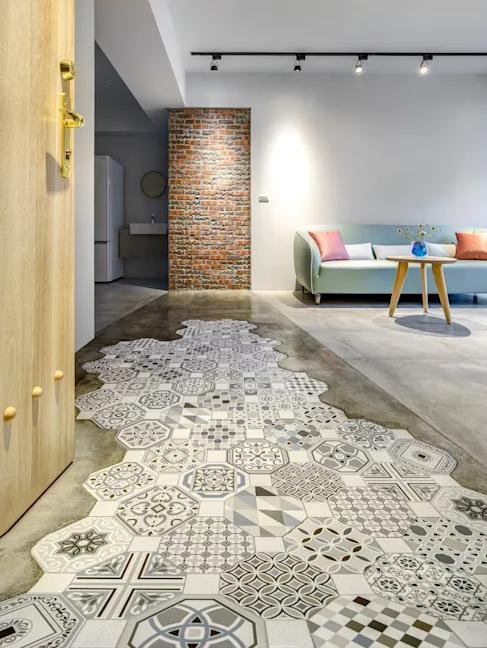 复古典雅的地砖:六角砖的材质、搭配、适用地点和铺设方法!