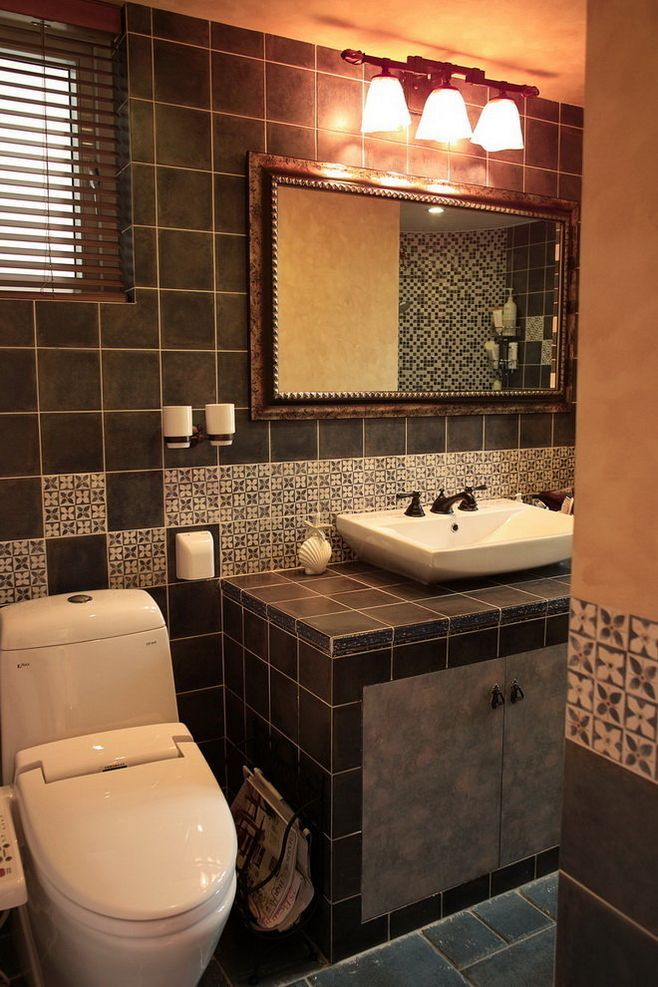 卫生间装修一般都用什么颜色的砖?