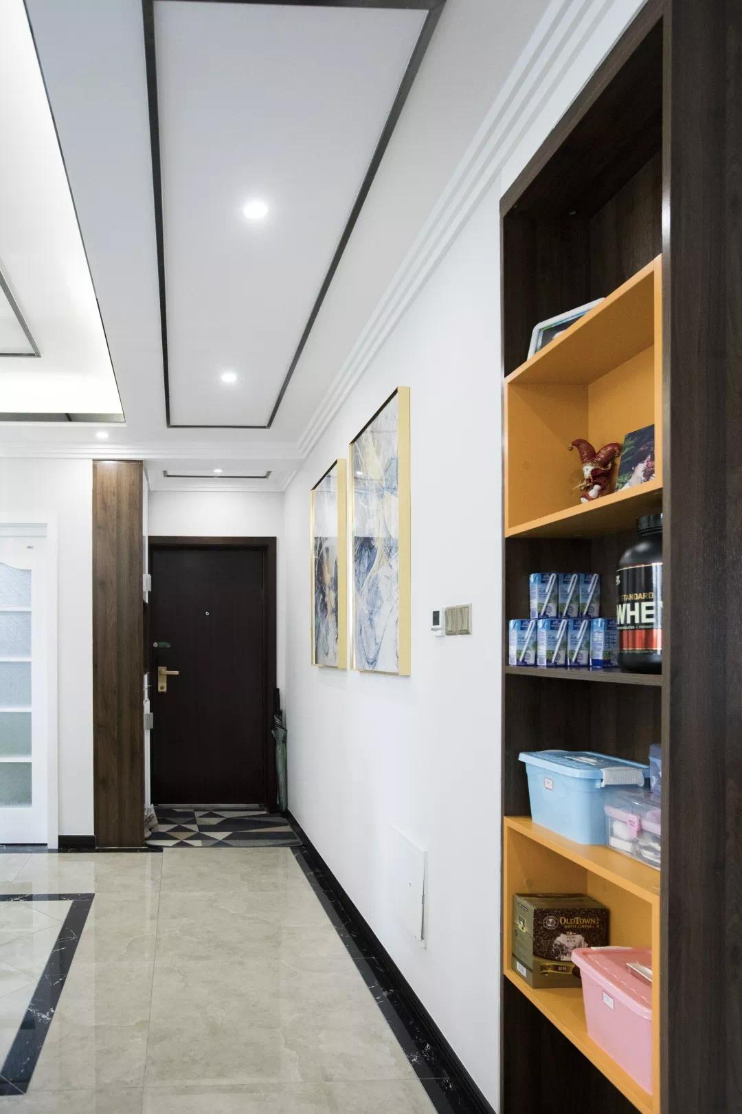 100m²后现代风大横厅,空间变大,更大提升储物功能! 后现代 装修设计 储物空间 第4张