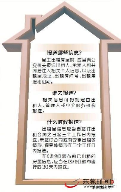 東莞市出租屋新管理條例12月1日實施 簽訂出租合同需報送信息