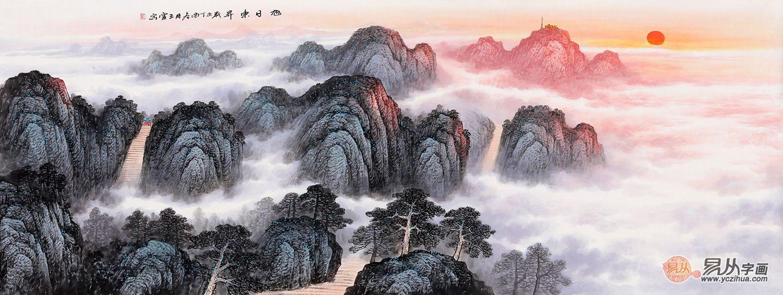 艺术品赏:执着的山水画家王宁山水画作品赏析