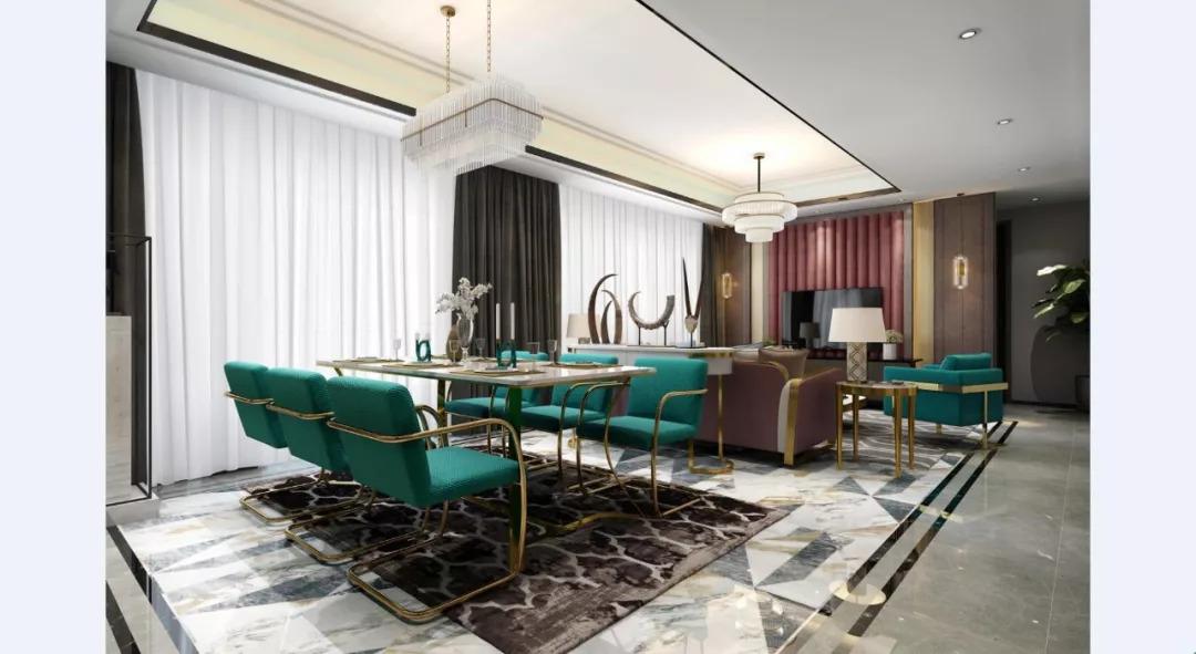芜湖装修公司介绍客厅与餐厅应该这样装!