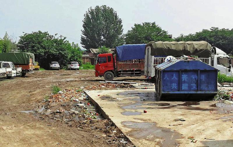 渭南城区部分农贸市场 城中村环境卫生堪忧