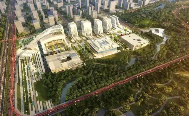 济宁学院附中、附小等太白湖新区重点建设项目最近进度
